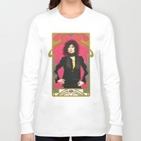 marc Long Sleeve T-shirts featuring Marc Bolan by Saoirse Mc Dermott