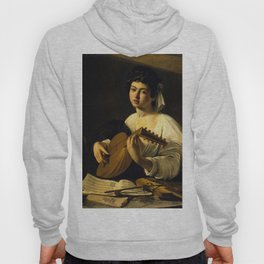 "Michelangelo Merisi da Caravaggio ""The Lute Player"" Hoody"