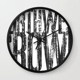 NORTHWEST GROWN Wall Clock