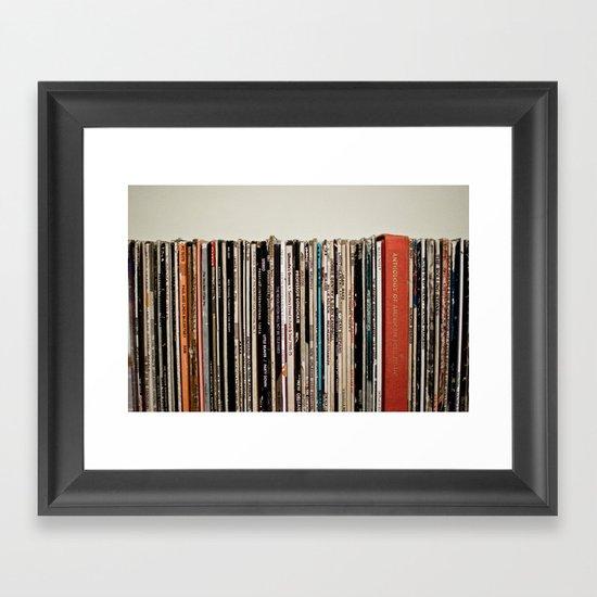 american standard time Framed Art Print