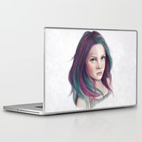 sandman Laptop & iPad Skins featuring Delirium by Laura MSS