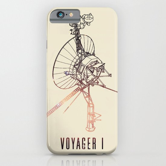 VOYAGER ONE - Space | Time | Science | Planets | Travel | Interstellar Mission | NASA iPhone & iPod Case