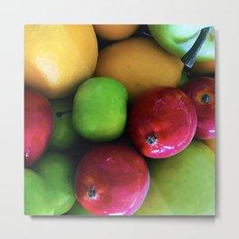 Sweet Luscious Summer Fresh Organic Fruit Metal Print
