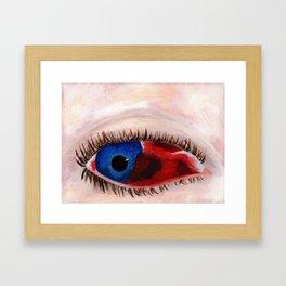 8-ball Framed Art Print