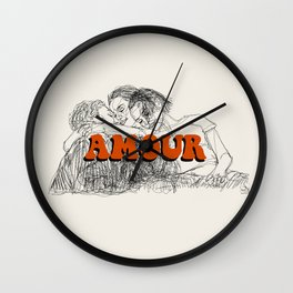 Amour Wall Clock