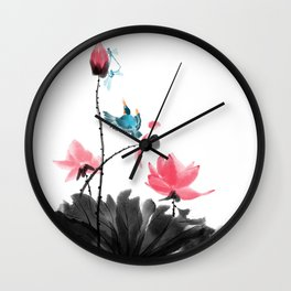 Shh... Wall Clock