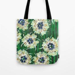 White Aspen Rose Tote Bag