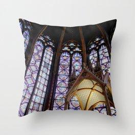 La Sainte-Chapelle. Throw Pillow