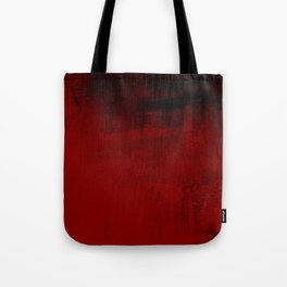 Abstract art in deep red Tote Bag
