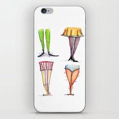 Legwork Squared iPhone & iPod Skin