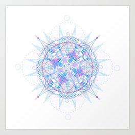 Jagged Circumference Art Print