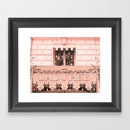 Paris in Blush Pink IV Framed Art Print