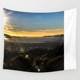 Bay Area View Wall Tapestry