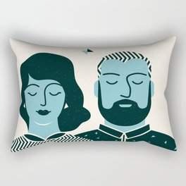 The Couple Rectangular Pillow