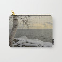 Curves of the Silver Birch by Teresa Thompson Carry-All Pouch