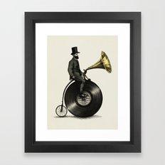 Music Man Framed Art Print