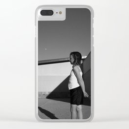 Untitled (mars) Clear iPhone Case
