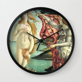 """""""The Birth of Narcissism."""" Wall Clock"""