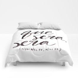 Que Sera, Sera Comforters