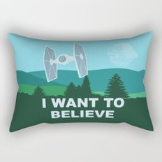 I WANT TO BELIEVE - Star Wars Rectangular Pillow