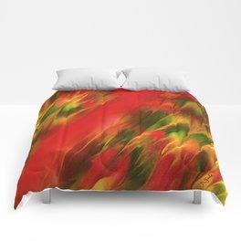 Melting in red / Sciogliersi nel rosso Comforters