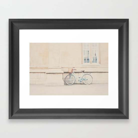 the perfect way to travel ...  Framed Art Print