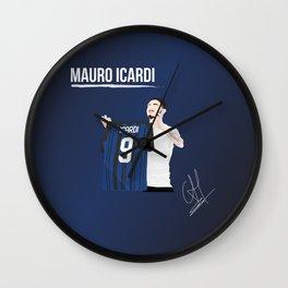 Mauro Icardi - Inter Wall Clock