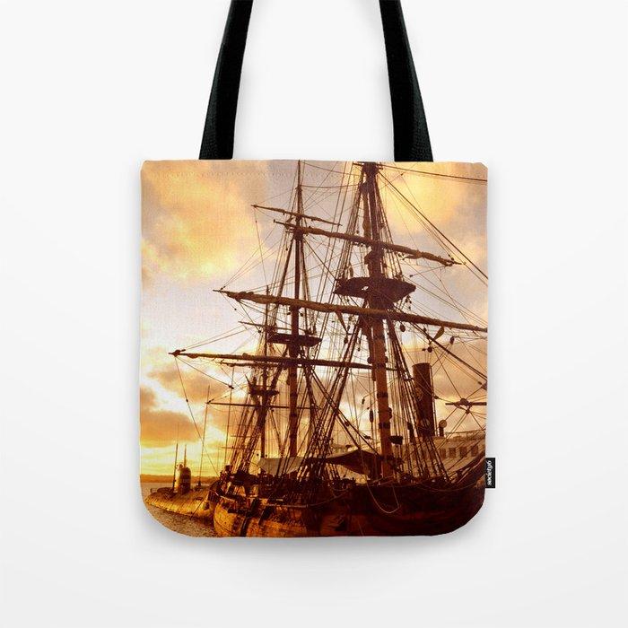 PIRATE SHIP :) Tote Bag
