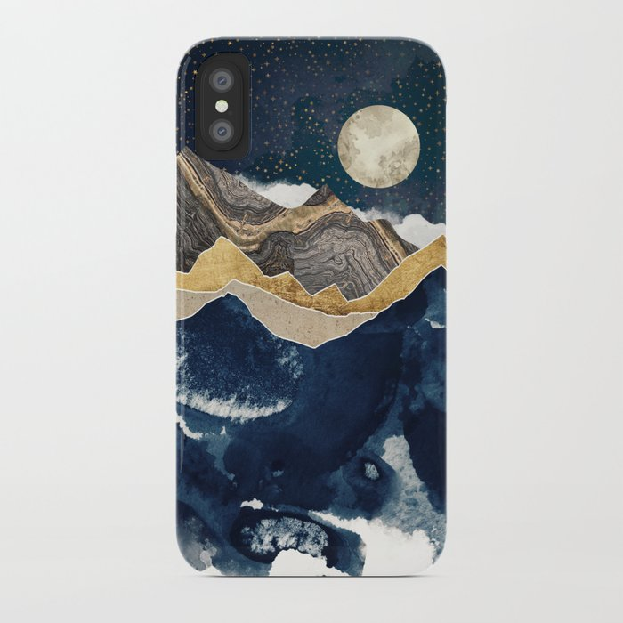 Midnight Winter iPhone Case