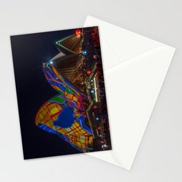 Designs projected on the roofs of Opera House. Stationery Cards