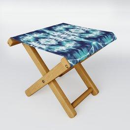 Celestial Nouveau Tie-Dye Folding Stool