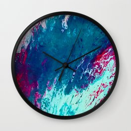 In To Her Kiss Wall Clock