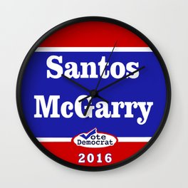 Matt Santos for President - 2016 Wall Clock