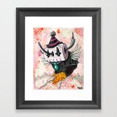 The Robot Monster 00101101 Framed Art Print