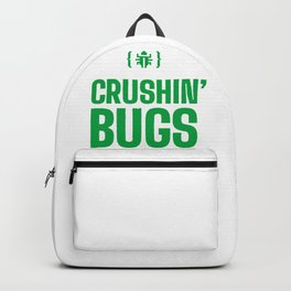 CRUSHIN' BUGS All Mite Long Backpack