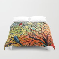 27 Birds Duvet Cover