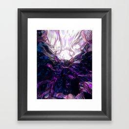 Shadow Burn Framed Art Print