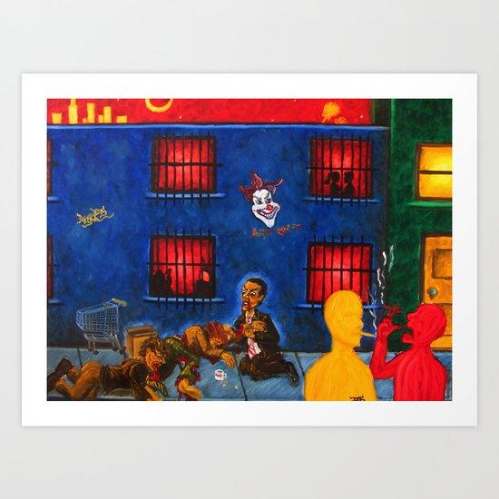 """Los Angeles 2"" Art Print"