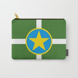 Jackson city flag united states of america Mississippi Carry-All Pouch