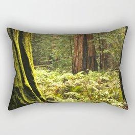 Fern footing Rectangular Pillow