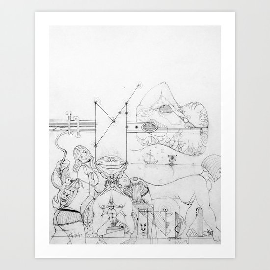 Elbow Art Print