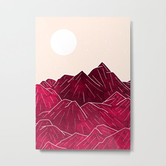 Ruby Mountains Metal Print