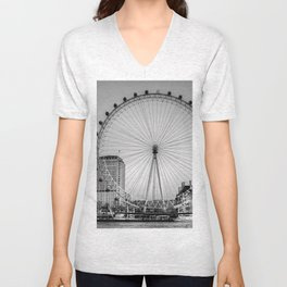 London Eye, London Unisex V-Neck