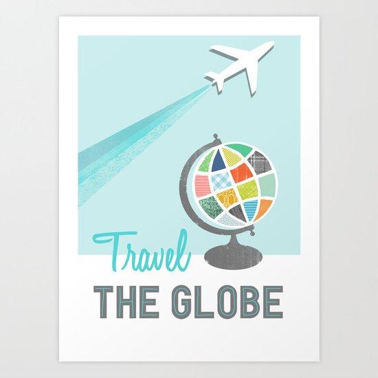 Travel the Globe Art Print