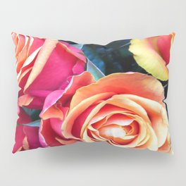 Bed of Roses Liberty of London flower market Pillow Sham