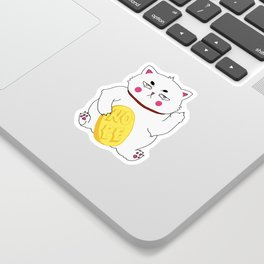 Maneki-nope Sticker
