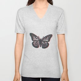 Insect butterfly insect admiral gift Unisex V-Neck