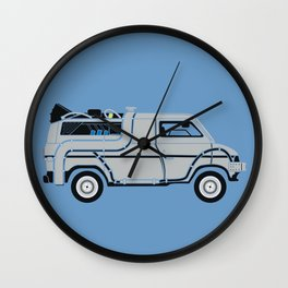 Back to The Future DeloreVan Wall Clock