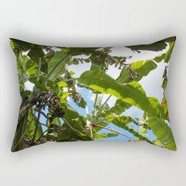 Banana Leaf Canopy Rectangular Pillow