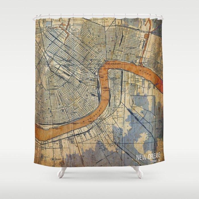 06 New Orleans Louisiana 1932 Shower Curtain